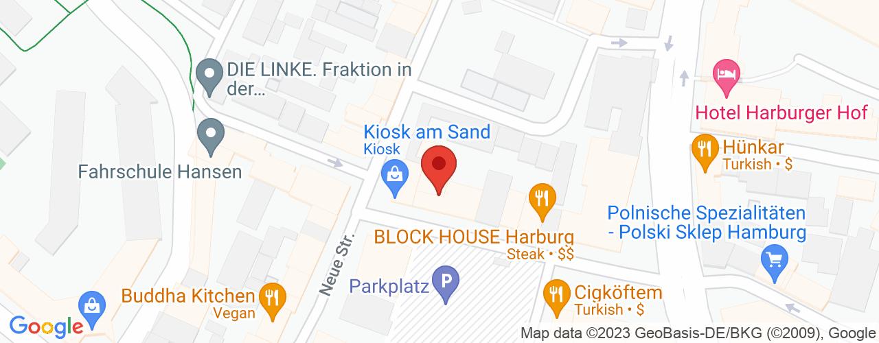 Karte von Bodymed-Center Hamburg Harburg