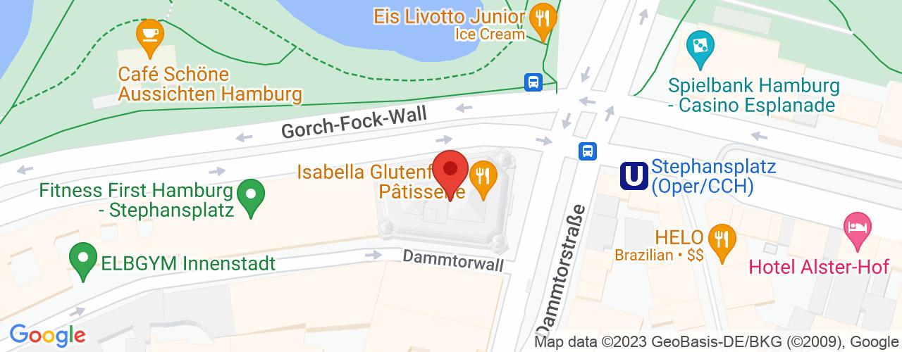 Karte von Bodymed-Center Hamburg Medizinicum