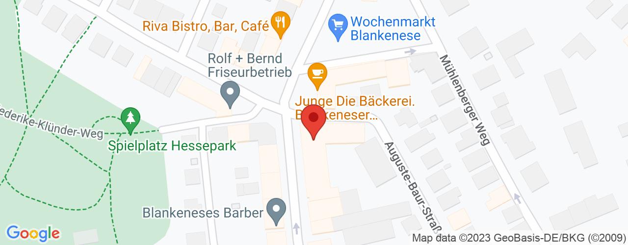 Karte von Bodymed-Center Blankenese