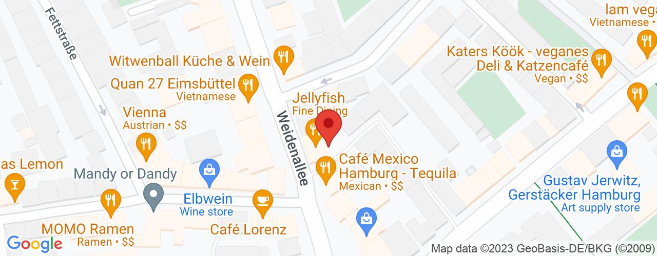 Karte von Bodymed-Center Hamburg-Eimsbüttel