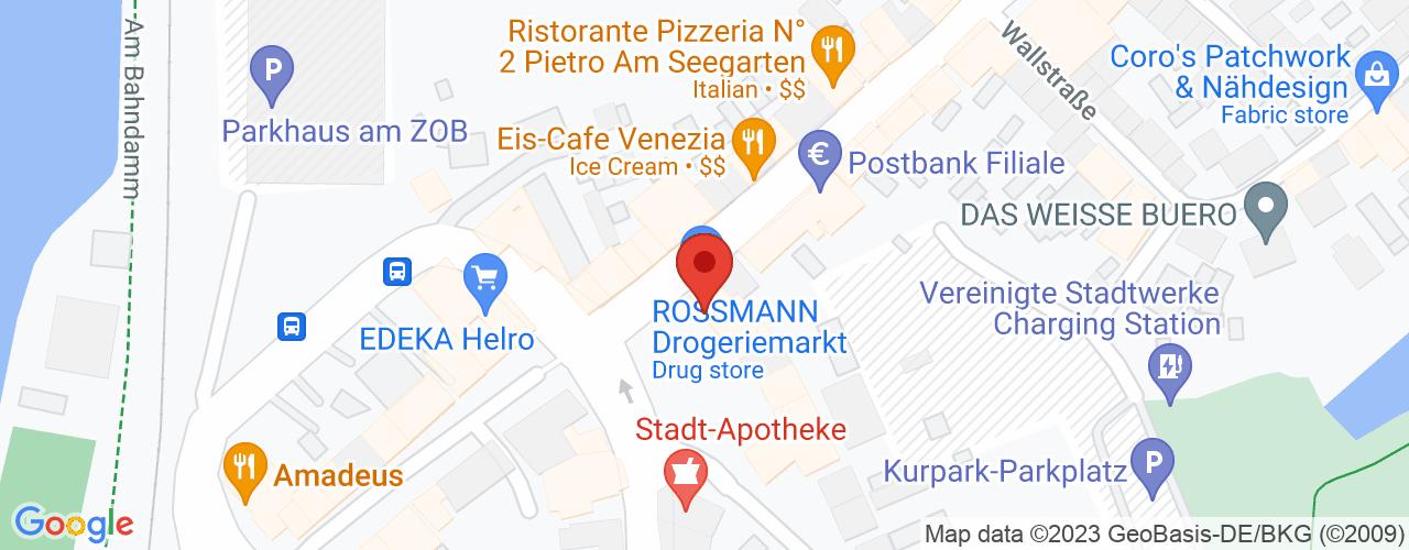 Karte von Bodymed-Center Mölln