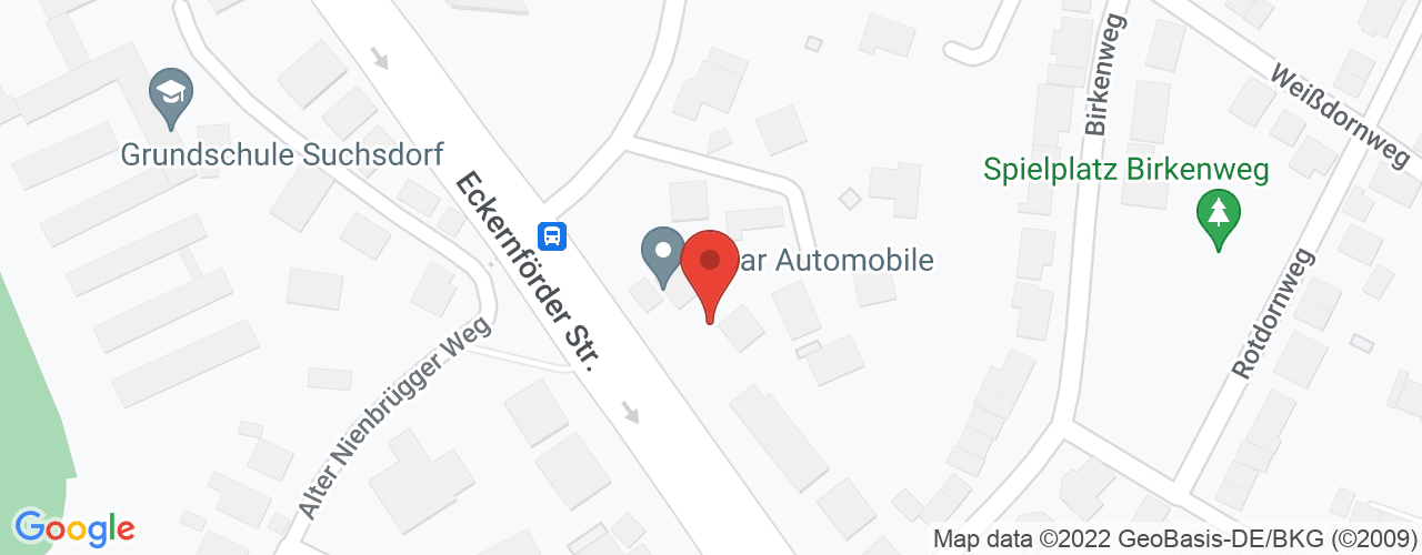 Karte von Bodymed-Center Kiel-Suchsdorf