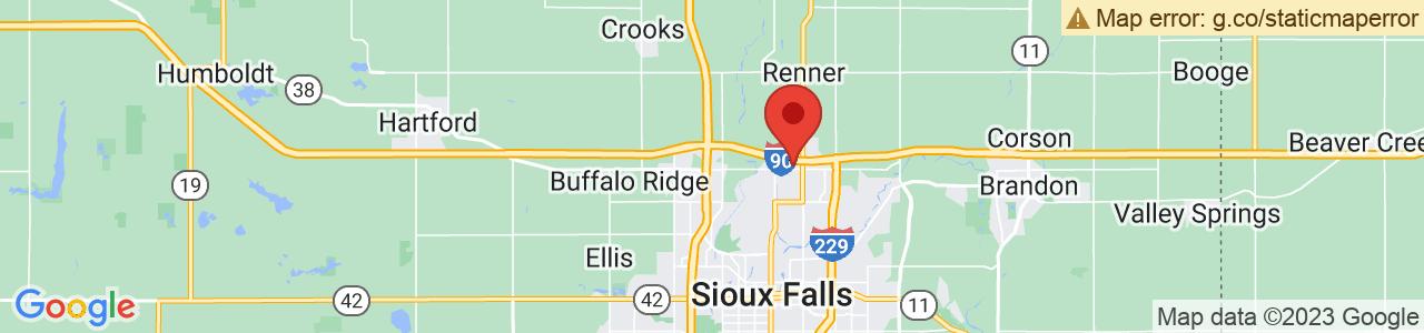 Rental Car At Joss Airport In South Dakota