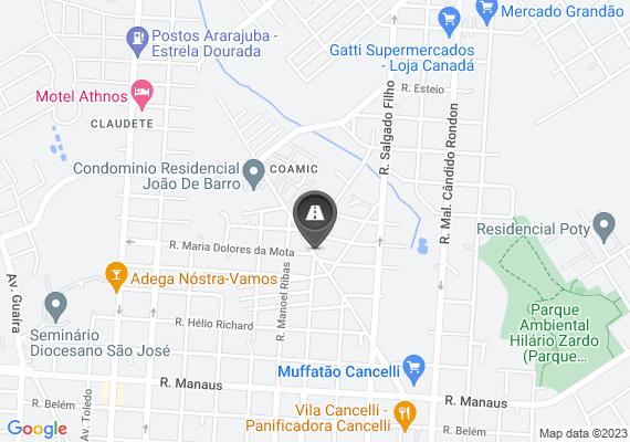 Mapa Dois grandes buracos no asfalto há mais de 60 dias