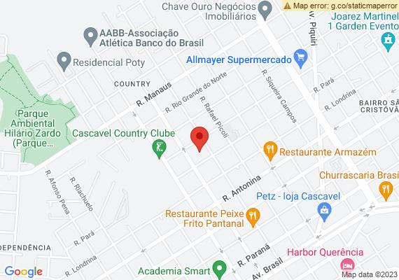 Mapa Há algum tempo estão surgindo na Praça Parigot de Souza