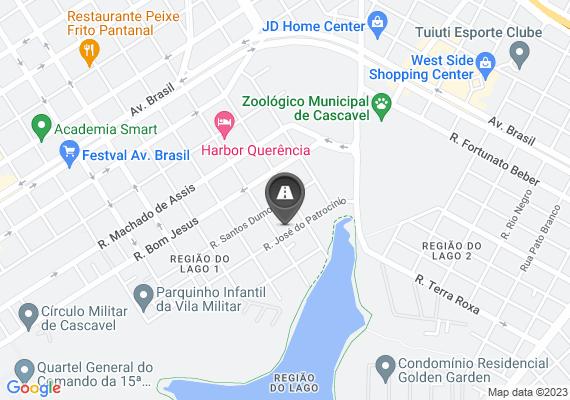 Mapa Falta de pintura das faixas de pedestre em frente à escola