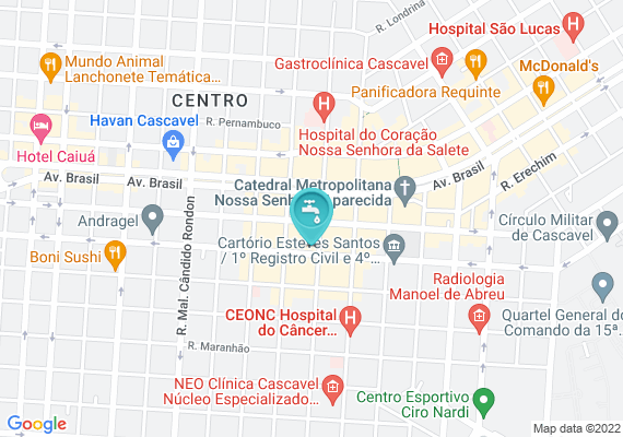 Mapa Boca de lobo na rua potiguara em frente ao número 1648 no