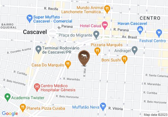 Mapa Matagal