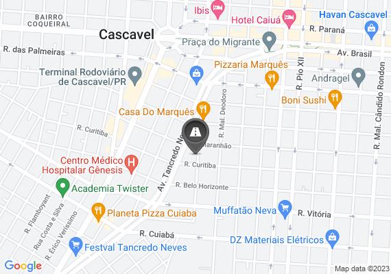 Mapa Bueiro quebrado