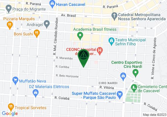 Mapa Bueiro semi aberto