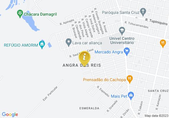 Mapa Boa tarde. Regiao do bairro Esmeralda entre a Rua