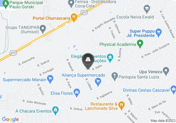 Mapa Realizar tapa buraco