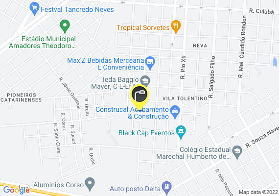 Mapa Lâmpadas queimadas em dois postes na rua Marechal Floriano