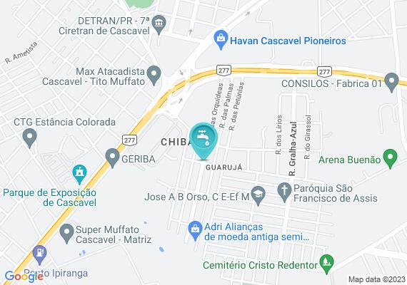 Mapa Vazamento de água pela boca do registro de rua