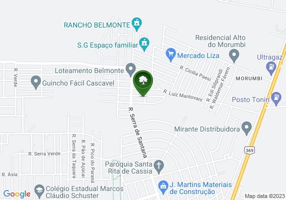 Mapa Mato alto aqui no Belmonte na rua Maria Perin sartoretto