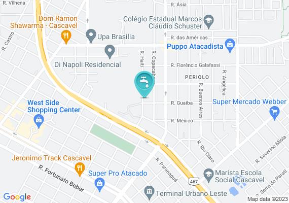 Mapa Boca de lobo entupida (na frente desse endereço, e descendo