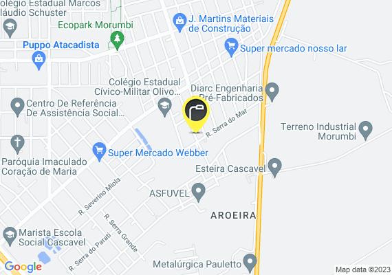 Mapa Luz da minha rua não funciona a case 6 mês