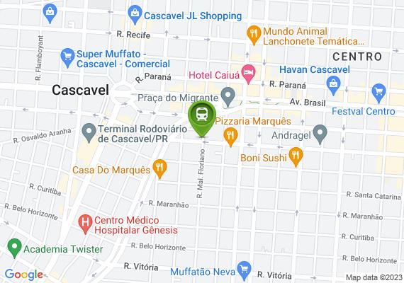 Mapa Necessário um semáforo na esquina do colégio Santa Maria.
