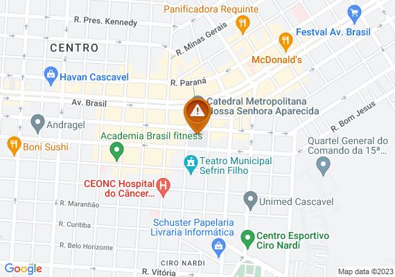 Mapa Só queria entender por que existe um semáforo em frente ao