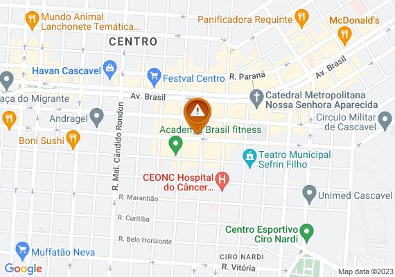 Mapa Elemento atuando como