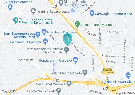 Mapa falta rede de esgoto