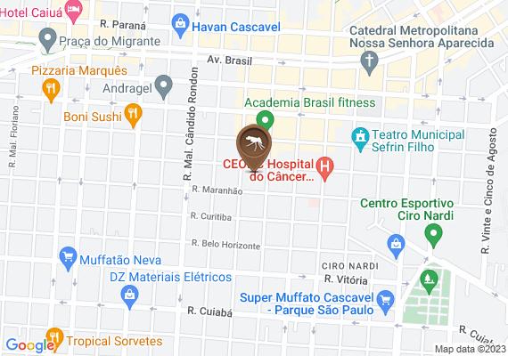 Mapa 3 casos de dengue na minha vizinhança. Rua Santa Catarina
