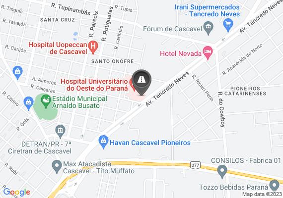 Mapa Buraco na calçada. Duas empresas para frente da Perfilados