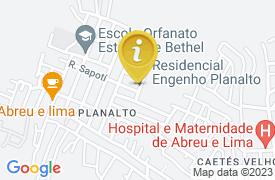 Mapa Descaso na SAÚDE do psf do bairro do planalto