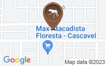 Mapa Mato alto e focos de mosquito