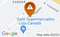 Mapa Falta de sinalização