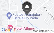 Mapa BURACOS NA ENTRADA DE TORATÓRIA.