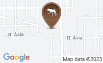 Mapa Criadouro de aedes aegypti