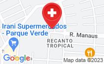 Mapa Hospital municipal de cascavel