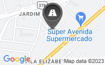 Mapa Rua Sem Pavimentação (apenas 128 metros)