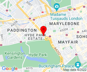 Map of W2 2HF, London