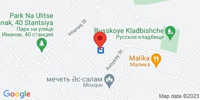 Map for Екібастұз көшесі 010000 Астана Қазақстан