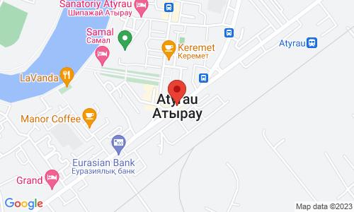 Map for  060000 Атырау Казахстан