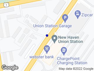 Map showing location of Union Station (Southbound)