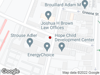 Map showing location of Court/Olive