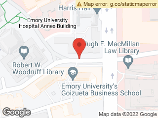 Map showing location of Fishburne @ Thomas Hall