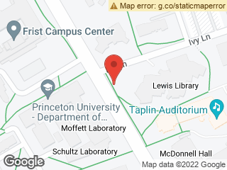 Map showing location of Lewis Library (Northbound)