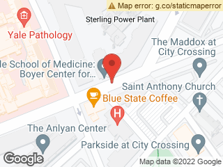 Map showing location of Boyer Center