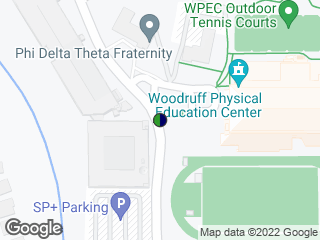 Map showing location of Eagle Row @ Woodruff PE Ctr