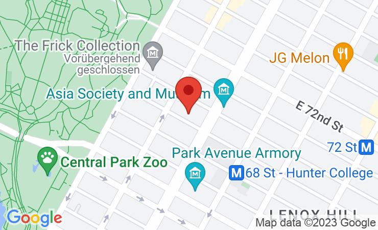 Geokoordinaten Diplomatischer Dreiviertel-Takt in Manhattan – BILD