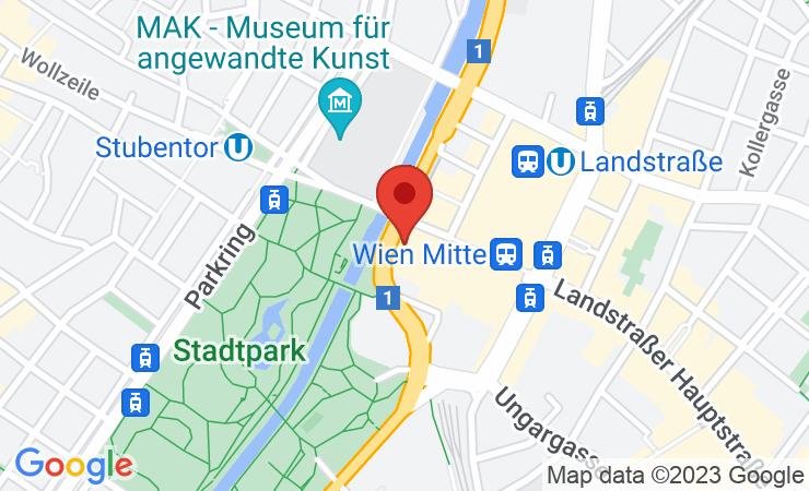 Geokoordinaten Hilton Vienna Park schließt millionenschwere Renovierung ab – BILD/VIDEO