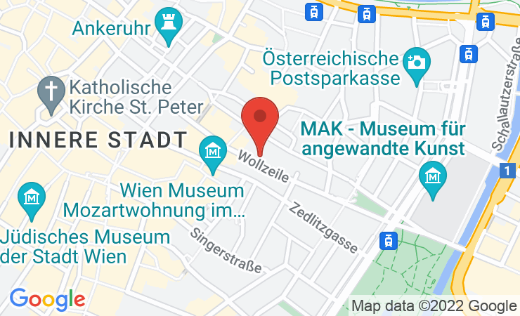 Geokoordinaten Neues Ausstellungskonzept im Club X in der Wiener Wollzeile
