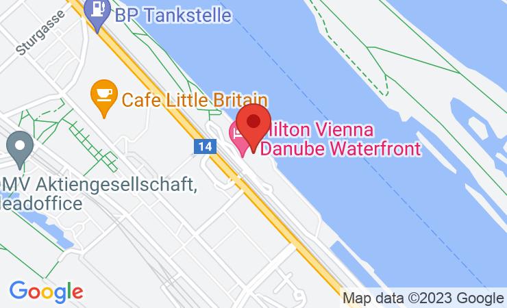 Geokoordinaten Hilton Vienna Danube Waterfront: Daniel Habersatter ist neuer General Manager – BILD