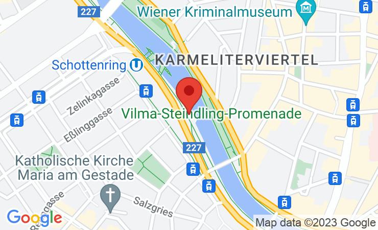 Geokoordinaten Mini-Chalets vom Feuerdorf am Donaukanal starten in die fünfte Saison – BILD/VIDEO