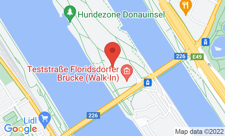 Geokoordinaten Über 3.000 Gatschhupfer auf der Donauinsel bei drittem x cross run – BILD