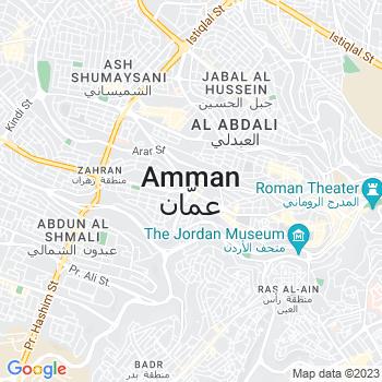 Google Map of Amman